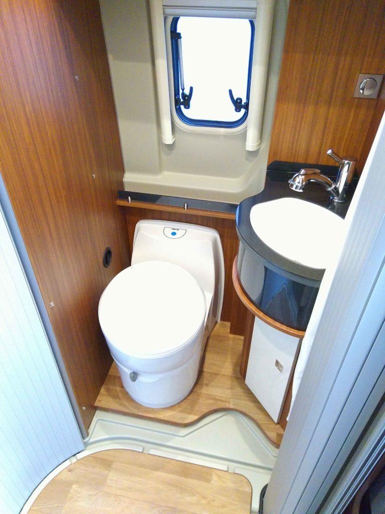 Toilette im Wohnmobil