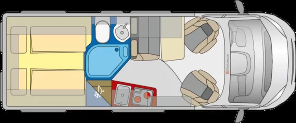 Grundriss Wohnmobil